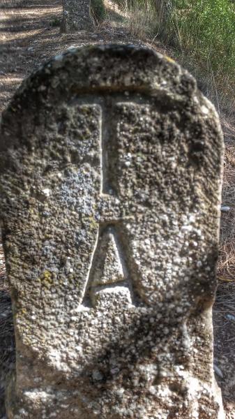 22.09.2014 detall pedra  El Far -  Ramon Sunyer