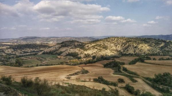 Paisatge de la vall del Llobregós - Talteüll