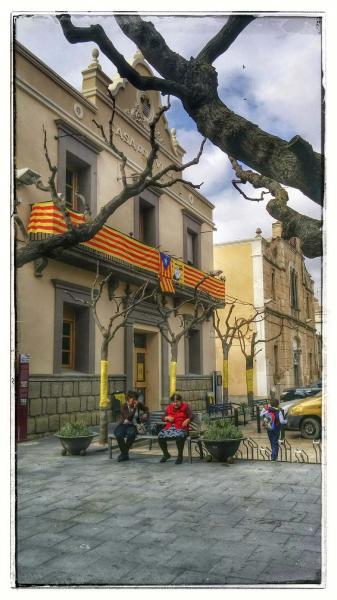 Building  casa de la Vila - Author Ramon Sunyer (2014)