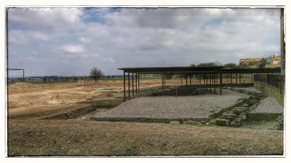 Site romain de Parc arqueològic Iesso - Auteur Ramon Sunyer (2014)