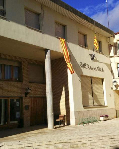 16.11.2014 casa de la vila  Castellfollit de Riubregós -  Ramon Sunyer