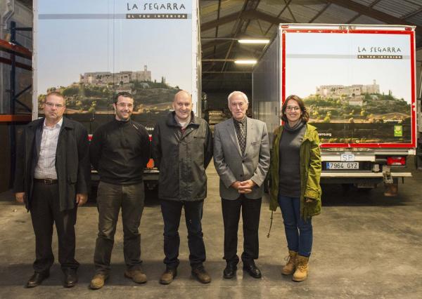 Promoció de la marca turística Segarra mitjançant camions retolats