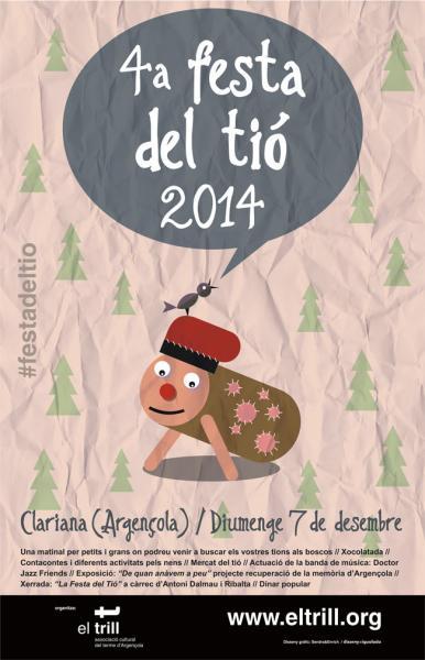 cartell Festa del Tió 2014