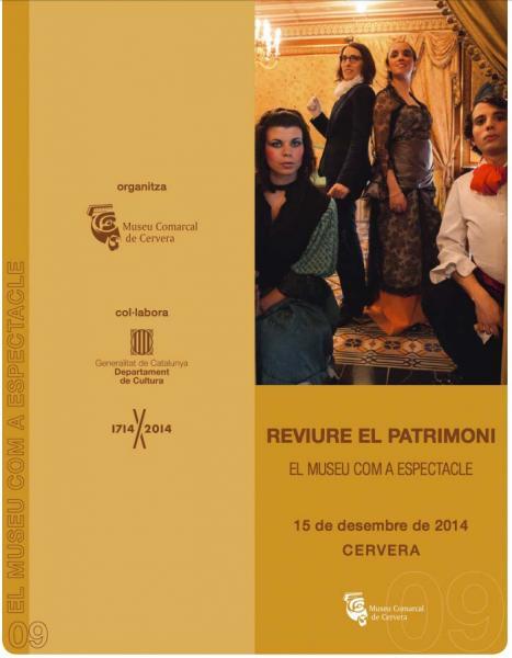 cartell Jornada Reviure el patrimoni: el museu com a espectacle