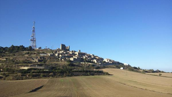 16.08.2014 Vista general  Savallà del Comtat -  Ramon Sunyer