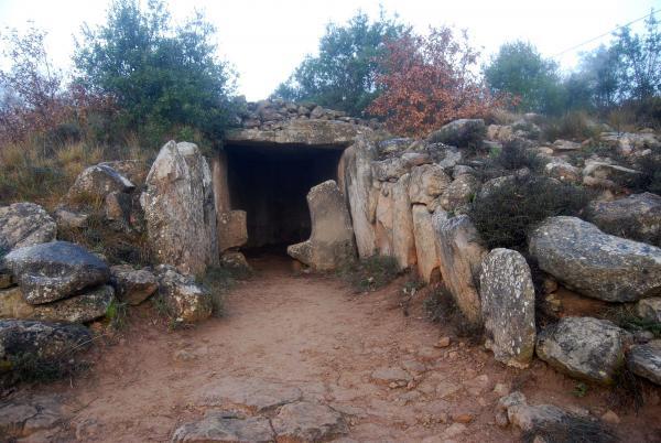 21.12.2014 El dolmen de la Vila  Llanera -  Ramon Sunyer