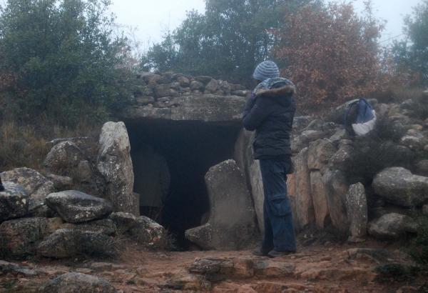 21.12.2014 Dolmen de la Vila  Llanera -  Ramon Sunyer
