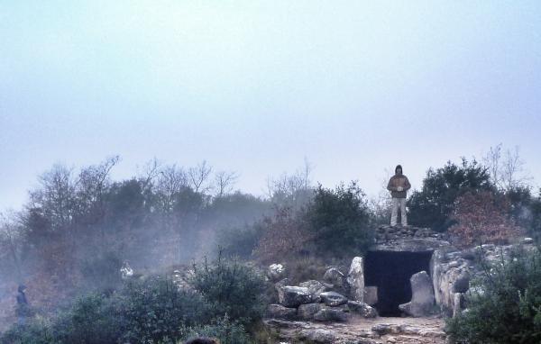 21.12.2014 Dolmen Llanera. Carregant energia còsmica  Llanera -  xavi