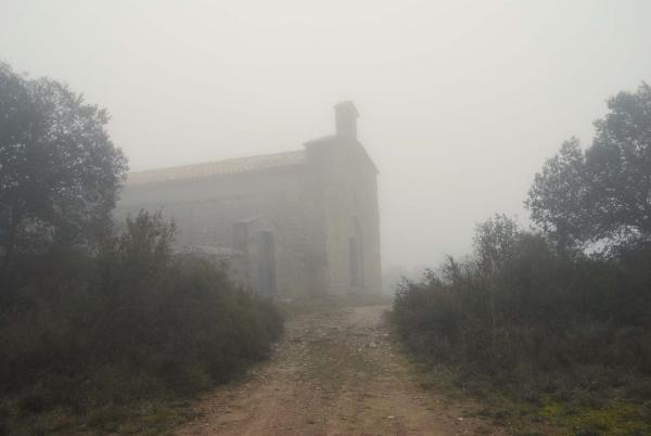 27.12.2014 ermita enboirada  Santes Creus -  Ramon Sunyer