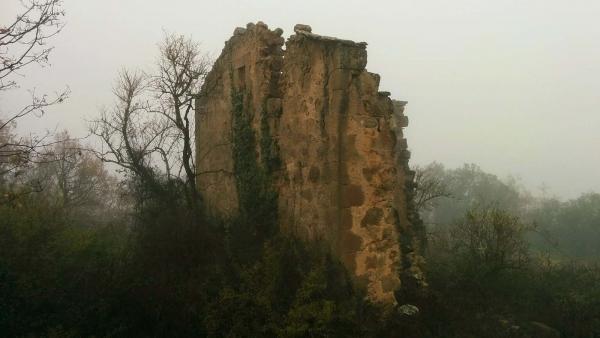 27.12.2014 Les boires donen un aire misteriós  Sanaüja -  Ramon Sunyer