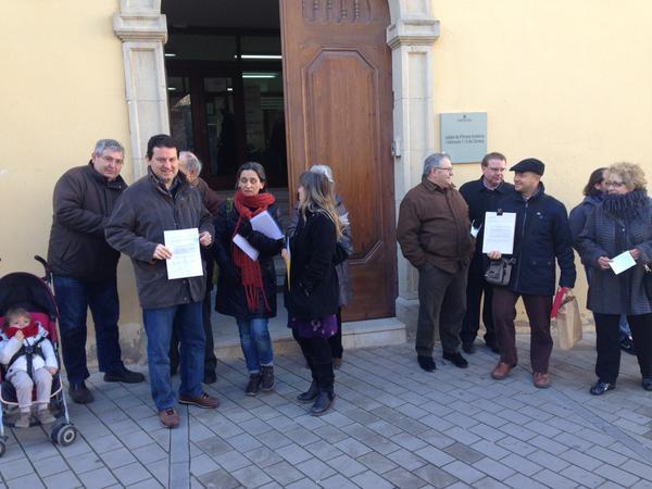 Autoinculpacions pel 9N a la Segarra