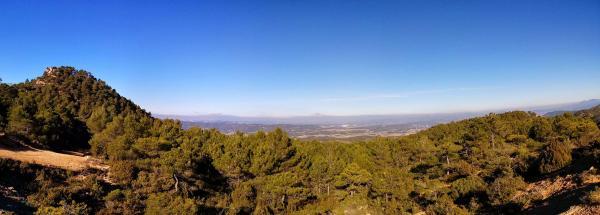 04.01.2015 Panoràmica boscos  Bellprat -  Ramon Sunyer