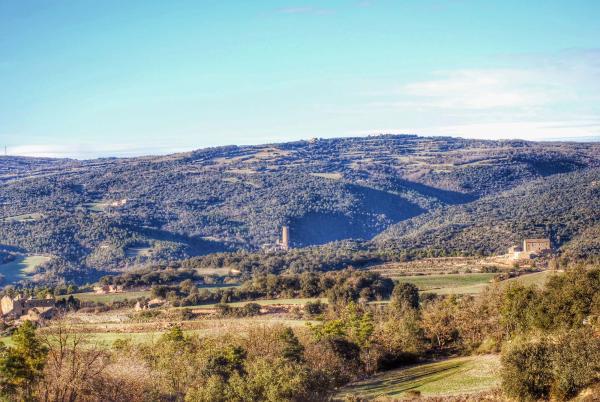 31.01.2015 Vista de la torre de Vallferosa  Sant Serni -  Ramon Sunyer