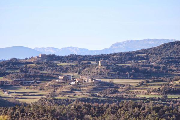 31.01.2015 Vista de Puigredon  Sant Serni -  Ramon Sunyer