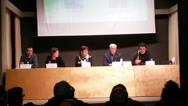 Acte de presentació dels documentals sobre els camps de concentració de Concabella i Cervera