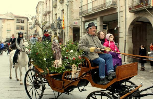 11.01.2014 Festa dels Tres Tombs  Santa Coloma de Queralt -  Frederic Vallbona