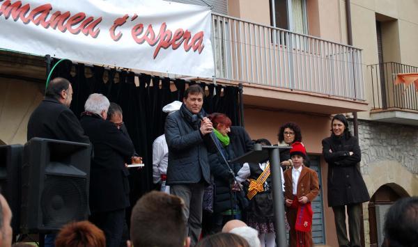 15.02.2015 Festa de la Caldera, el pregó  Montmaneu -  Ramon Sunyer