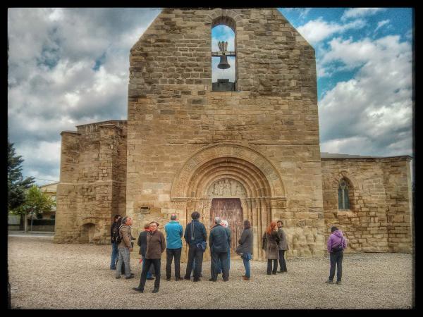 04.05.2013 Santa Maria de Bell-lloc romànic (XII)  Santa Coloma de Queralt -  Ramon Sunyer