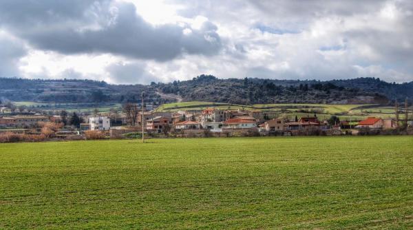 21.02.2015 Vista del poble  Sant Pere dels Arquells -  Ramon Sunyer