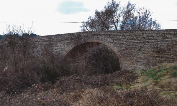 21.02.2015 Pont sobre l'Ondara  Sant Pere dels Arquells -  Ramon Sunyer