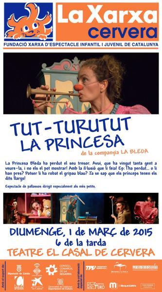 cartell La Bleda - Xarxa Cervera