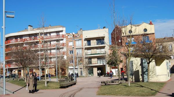 02.02.2015 Plaça dels arbres  Calaf -  Ramon Sunyer