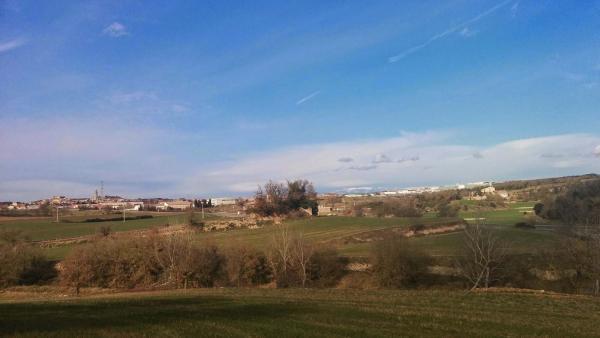 21.01.2015 Vista panoràmica a l'hivern  Calaf -  Ramon Sunyer