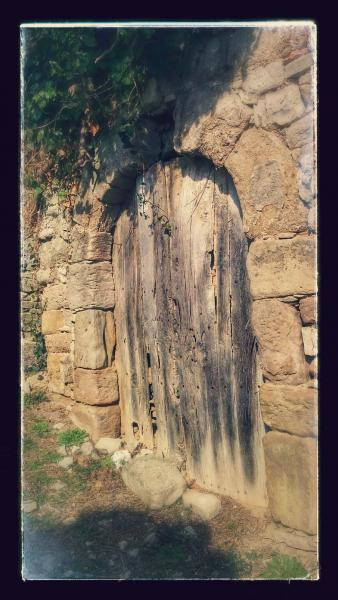 02.03.2015 Detall porta  Montargull -  Ramon Sunyer