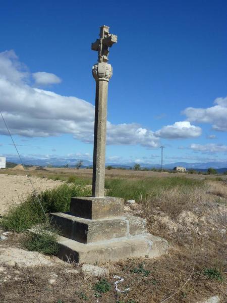 24.09.2012 Creu de terme  Massoteres -  Isidre Blanc