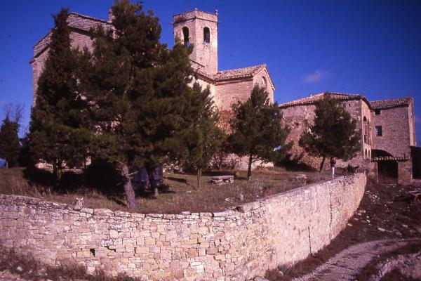 18.03.1987 Església Santa Fe  Calonge de Segarra -  Ramon Sunyer