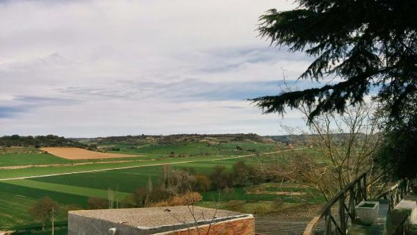 29.03.2015 vista de la vall del sió  Castellnou d'Oluges -  Ramon Sunyer