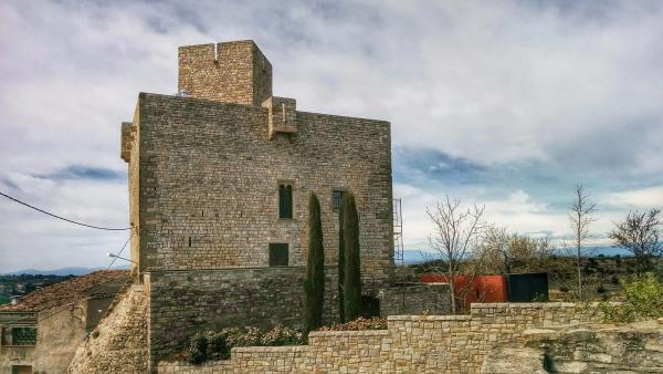 Castillo de Malgrat - Autor Ramon Sunyer (2015)