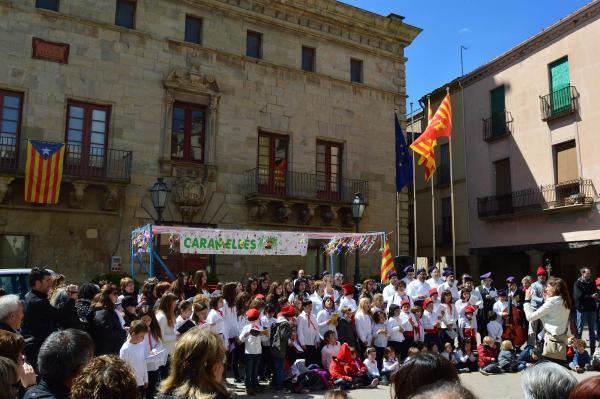 05.04.2015 cantada de caramelles  Cervera -  Josep M. Escudé