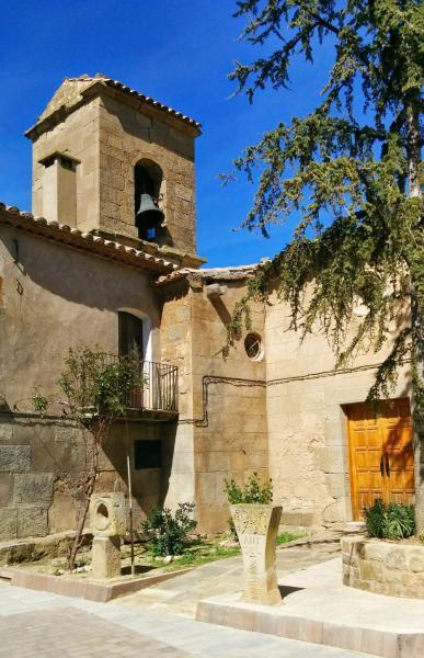 02.04.2015 Església Sant Esteve romànic s XII  La Morana -  Ramon Sunyer