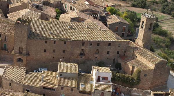13.04.2014 Viasta aèria del castell i Santa Maria  Florejacs -  Jaume Moya