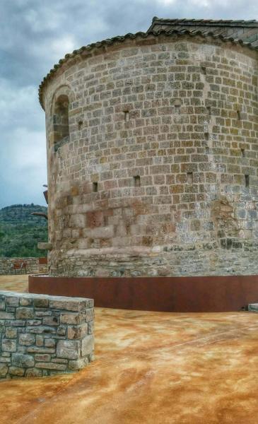 11.04.2015 Santa Maria romànic s XII  Veciana -  Ramon Sunyer