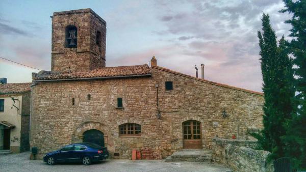 11.04.2015 Santa Maria romànic s XII  Segur -  Ramon Sunyer