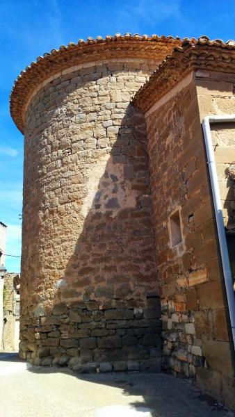 02.04.2015 Sant Amanç detall absis  Torrefeta -  Ramon Sunyer