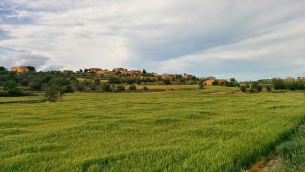 vista general del poble de Gra - Gra