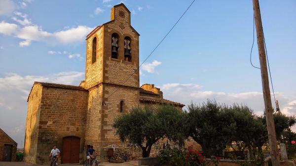 28.08.2014 Església de Sant Julià  El Llor -  Ramon Sunyer