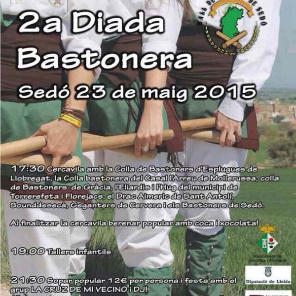 cartell 2a Diada Bastonera de Sedó