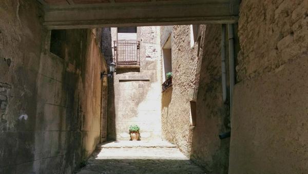 10.05.2015 detall carrer  Bellmunt de Segarra -  Ramon Sunyer