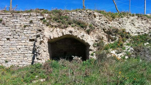 02.04.2015 Restes del castell  Bellmunt de Segarra -  Ramon Sunyer