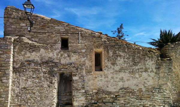 02.04.2015 Detall façana  Bellmunt de Segarra -  Ramon Sunyer