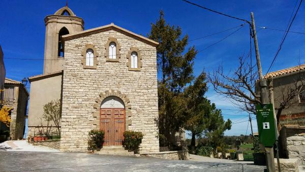 02.04.2015 Església de sant Pere  Bellmunt de Segarra -  Ramon Sunyer