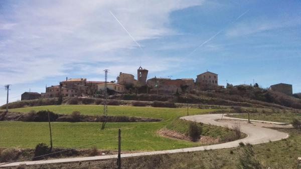 02.04.2015 vista del poble  Bellmunt de Segarra -  Ramon Sunyer