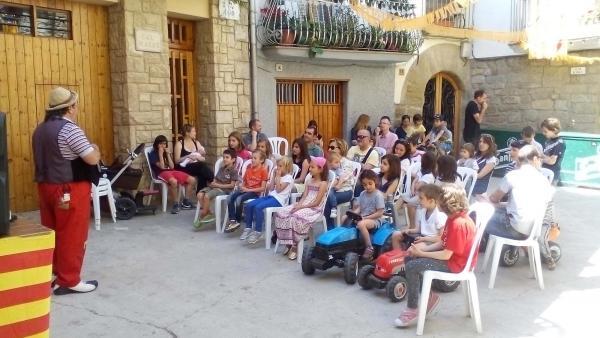 10.05.2015 espectacle infantil amb Lo Biel  Palou -  Aj TiF