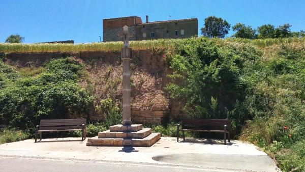 17.05.2015 Creu de terme  Montpalau -  Ramon Sunyer