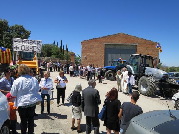 17.05.2015 benedicció de tractors  Gra -  Ajuntament de Torrefeta i Florejacs