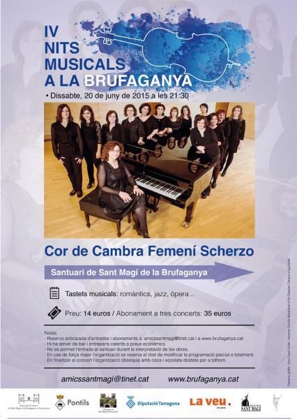 IV Nits Musicals a la Brufaganya cartell Scherzo
